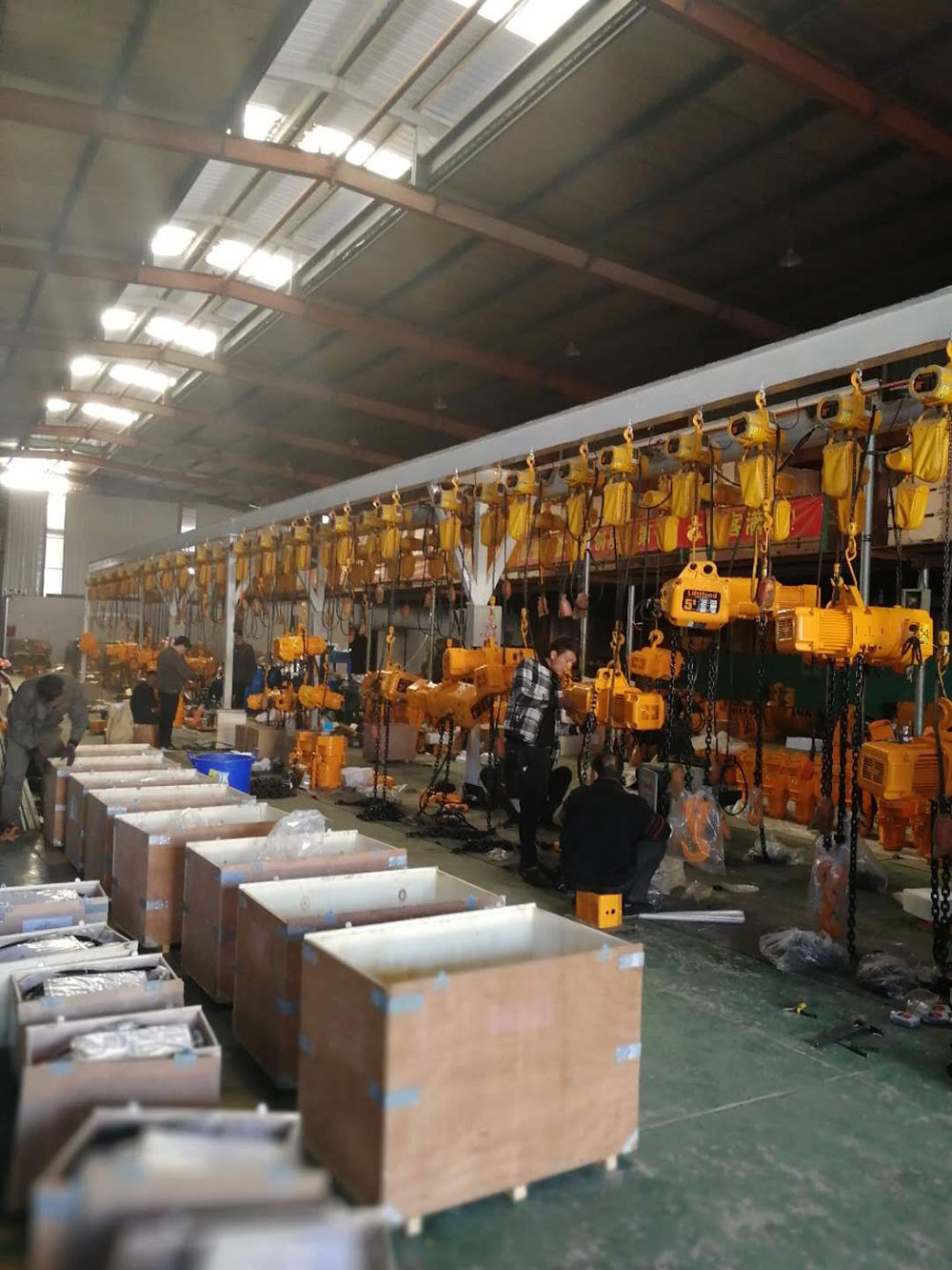 015-MHTOOL-WKTO-Electric-Chain-Hoist-Production-3